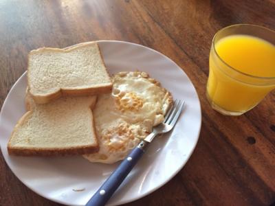 朝ごはん代表